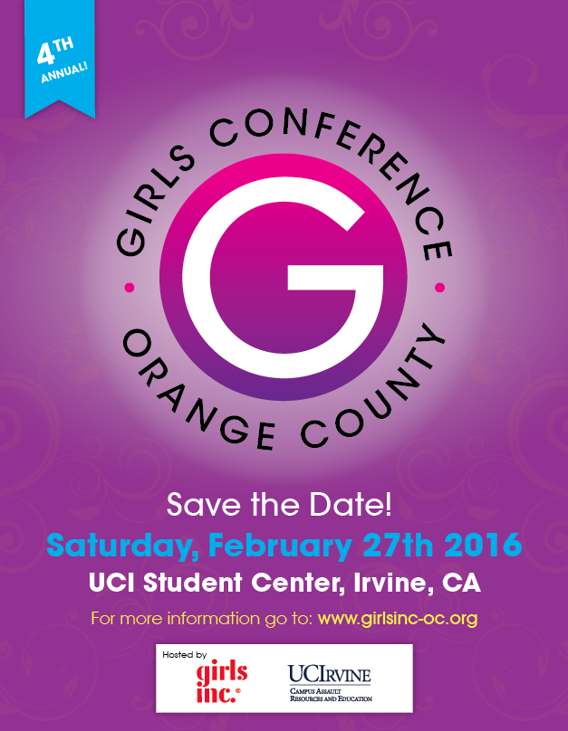 Girls Conference OC Save the Date