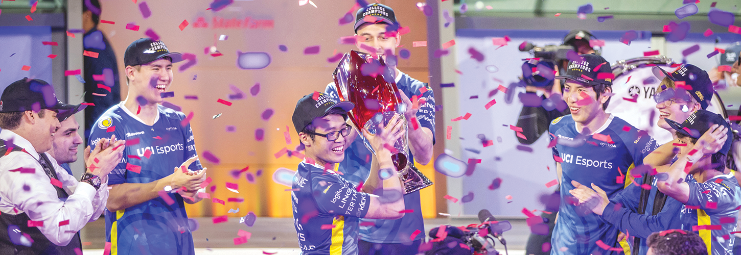 UCI Esports captured the 2018 League of Legends College National Championship trophy in June! »