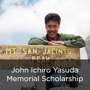 John Ichiro Yasuda Memorial Scholarship