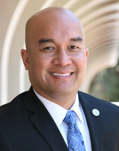Edgar J. Dormitorio, Interim Vice Chancellor, Student Affairs