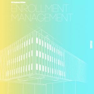 Enrollment Management section