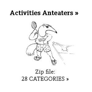 Activities Anteaters