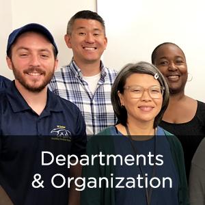 Departments & Organization