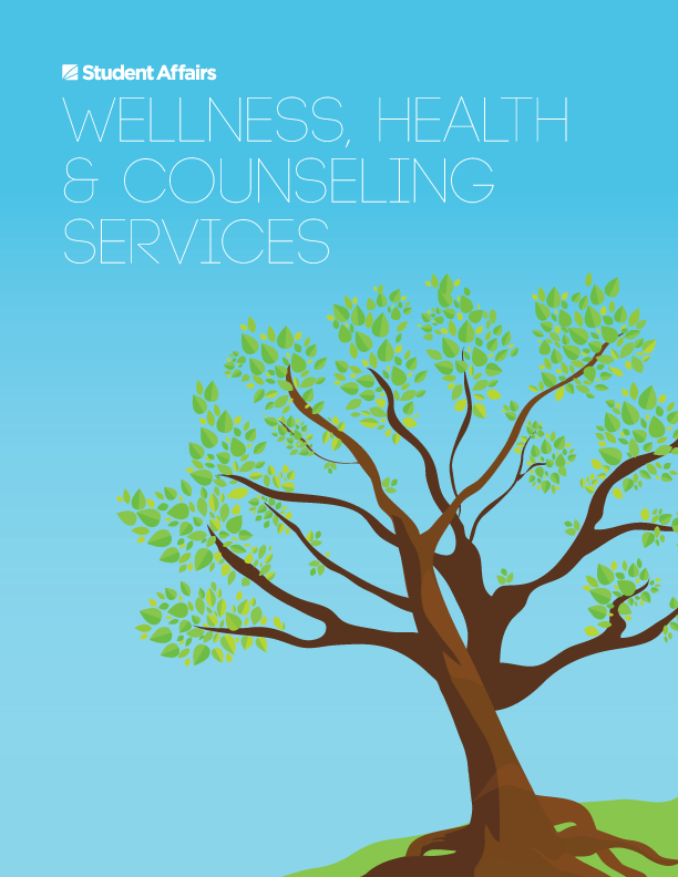 Wellness, Health & Counseling Services section