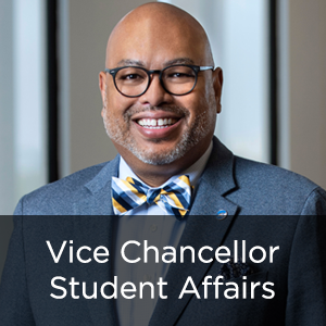 Vice Chancellor, Student Affairs Willie L. Banks Jr., Ph.D.