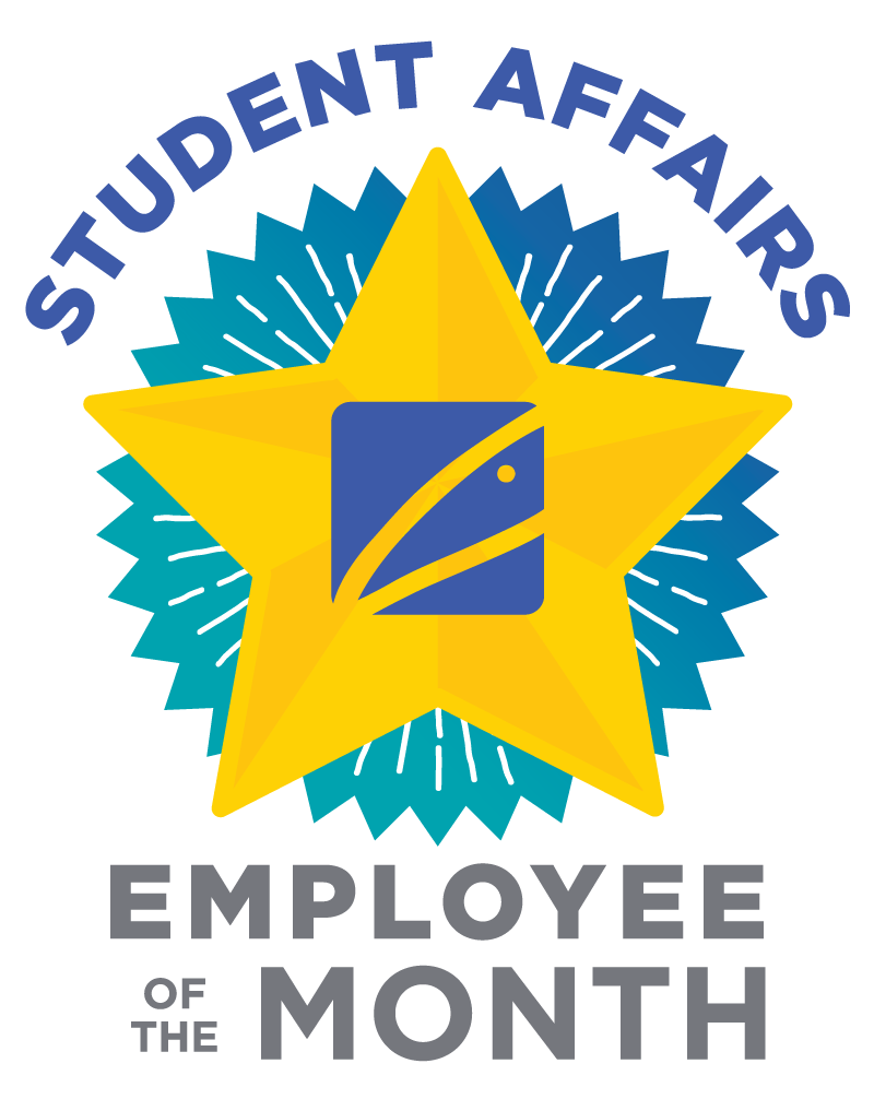 Student Affairs Employee of the Month graphic