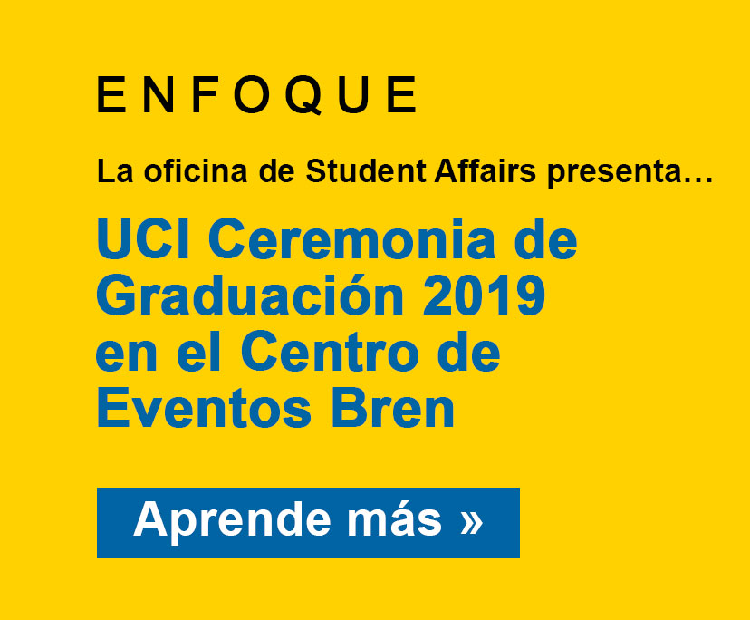 Spotlight: Student Affairs presents Commencement 2019 at the Bren Events Center